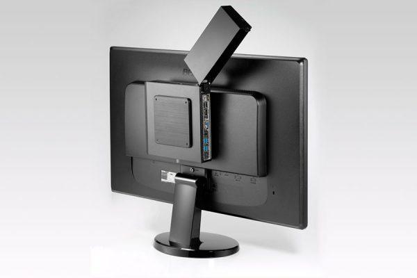 Univertia - Equipos TECHcomputer TC1 Series - Detalle trasera monitor
